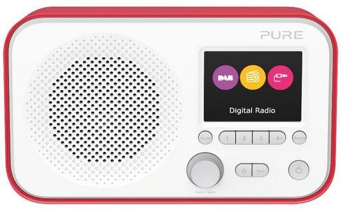 Pure Elan E3 FM/DAB+ Radio - red