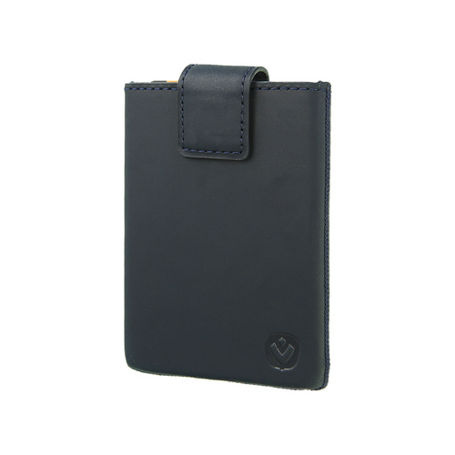 Valenta Pocket Luxe Card Case -  vintage blue