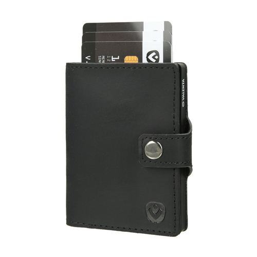 Valenta Wallet Card Case - vintage black
