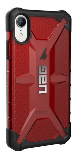 UAG Plasma Case - iPhone XR (6.1 Screen) - magma (transparent)