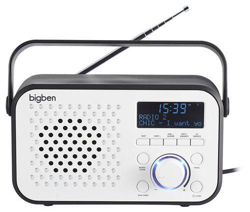 Bigben - Tragbares DAB-Radio TR24 - white