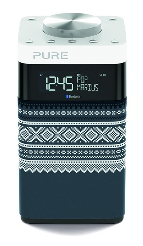 Pure Pop Midi Marius FM/DAB+ Radio - grey