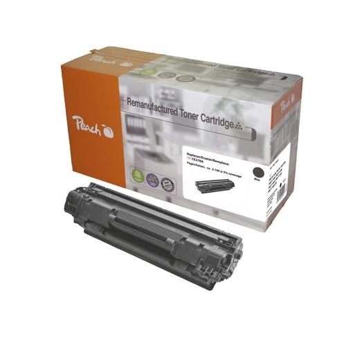 Peach Tonermodul schwarz kompatibel zu HP CE278A