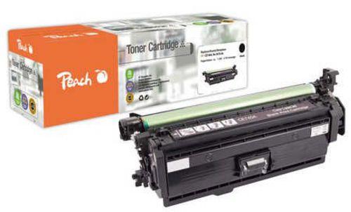 Peach Tonermodul schwarz kompatibel zu HP No. 307, CE740A bk