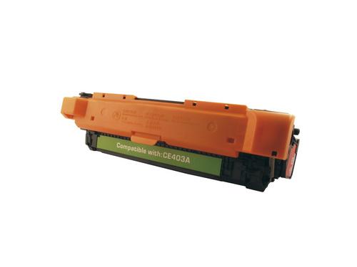 Peach Tonermodul magenta, kompatibel zu HP No.507, CE403A