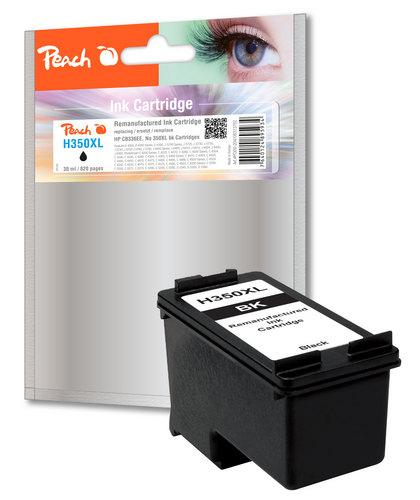 Peach Druckkopf schwarz kompatibel zu HP No. 350XL, CB336EE