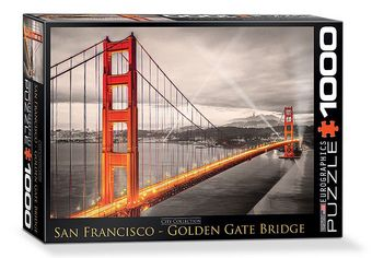 San Fransisco: Golden Gate Bridge - Puzzle [1000 pezzi]