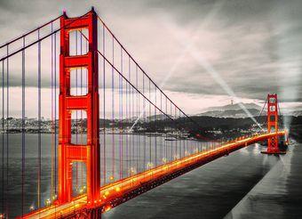 San Francisco: Golden Gate Bridge - Puzzle [1000 Teile]