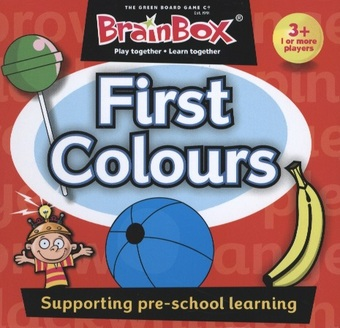 BrainBox: First Colours (Englisch)
