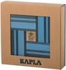 KAPLA Jeu en bois Coffret Couleur bleu clair & bleu foncé