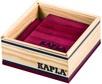KAPLA Jeu en bois carré 40 violet