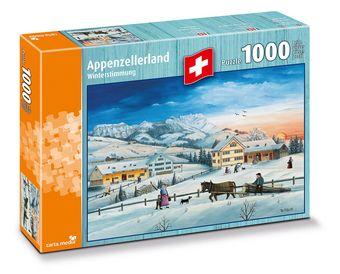 Pays d'Appenzell : Idylle d'hiver - Puzzle [1000 Pièces]