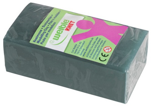 Blockknete grau (250 g)