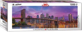 Eurographics: Puzzle - Brooklyn Bridge New York [1000 Teile]