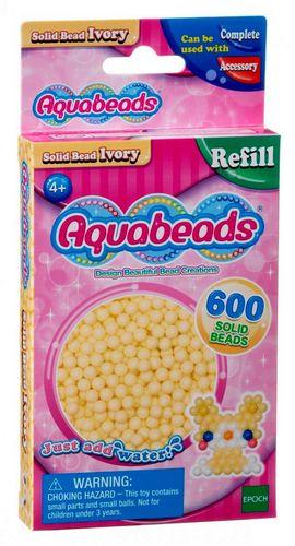 Aquabeads: Refill Perlen hautfarbe - 600 Stück