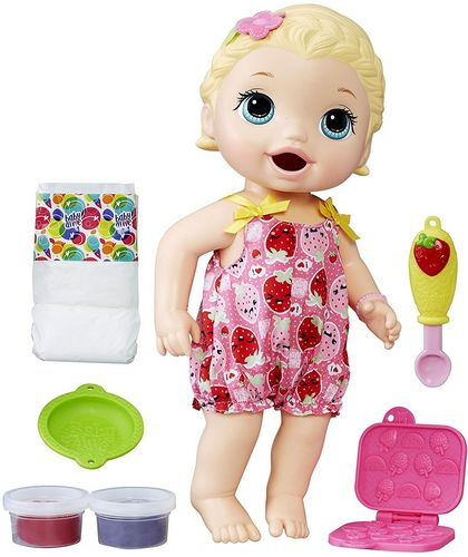 Baby Alive : Lily a faim (blonde)
