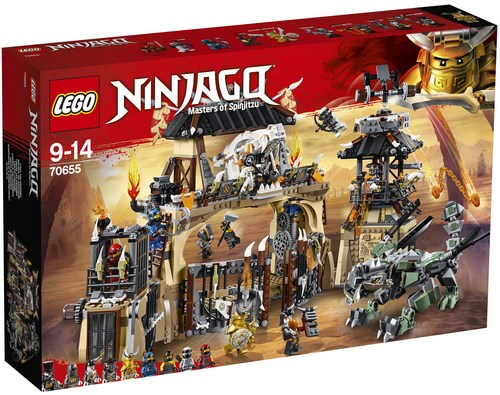 LEGO© 70655 Ninjago - Dragon Pit