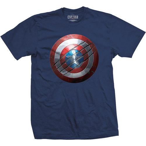 Captain America Civil War: Clawed Shield - T-Shirt [M]