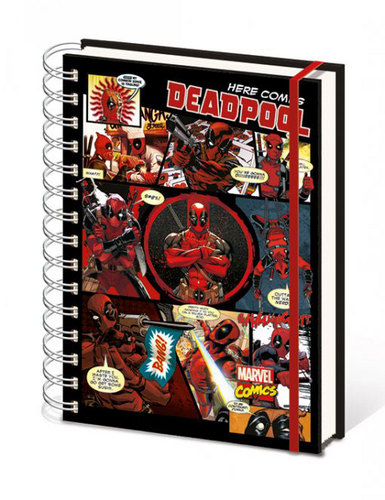 Marvel Comics: Deadpool - Notizbuch A5