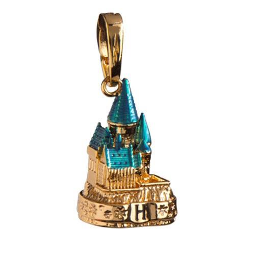 Harry Potter: Hogwarts Schloss gold - Anhänger für Lumos Bettelarmband