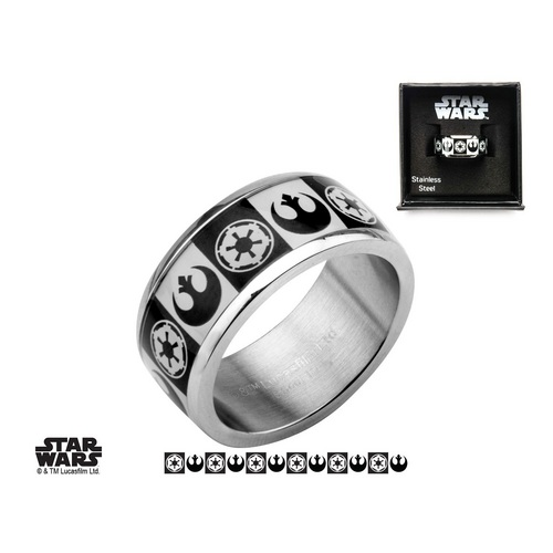 Star Wars : Galactic Empire & Rebel Alliance Symbol - anneau [07]
