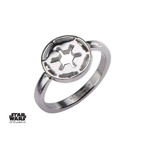 Star Wars : Galactic Empire Symbol Cut Out - anneau [08]