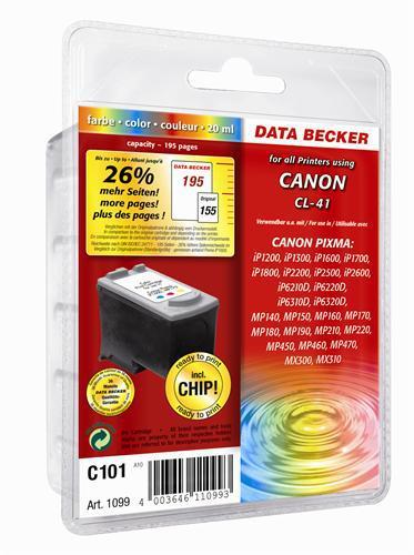 C101 Cartuccia di stampa Canon COLOR (CL-41)
