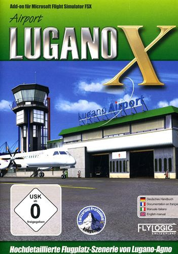 Airport Lugano-Agno für FSX [Add-On]
