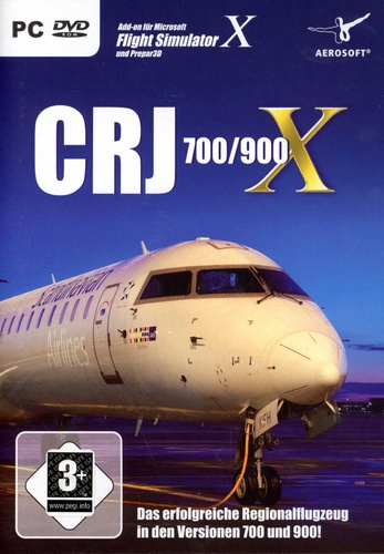 CRJ 700/900 X für FSX [Add-On