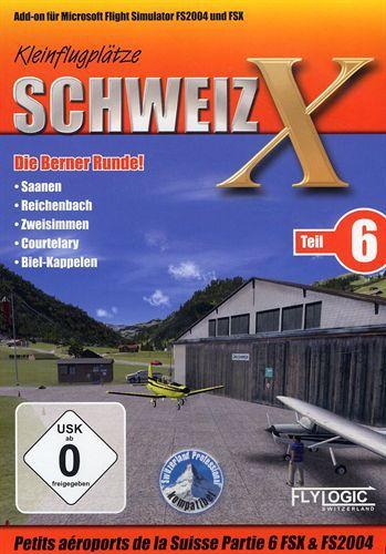 Petits Aéroports de la Suisse Partie 6 pour FS200/FSX [Add-On]