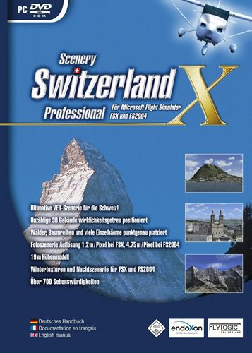 Switzerland Professional X für FS2004/FSX [Add-On] [DVD]