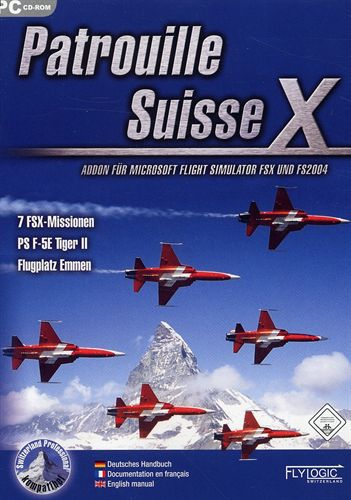 Patrouille Suisse X für FS2004/FSX [Add-On