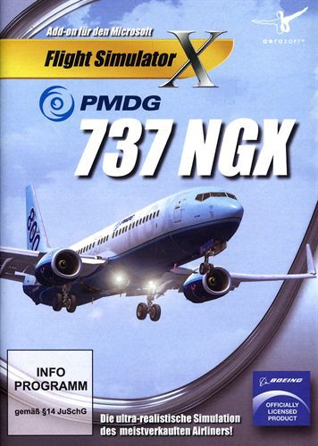 PMDG 737 NGX für FSX [Add-On] [DVD]