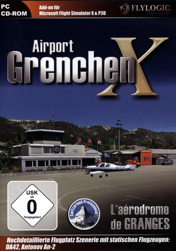 L'aérodrome de Granges X pour FSX [Add-On]