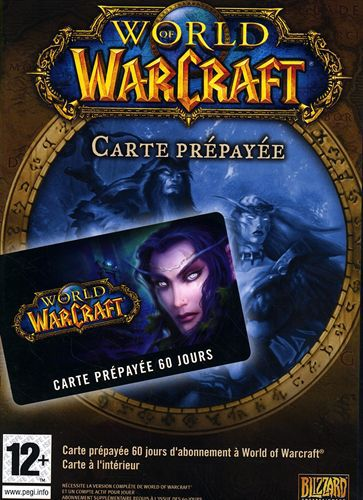 World of Warcraft : Carte Prépayée [60 Jours]