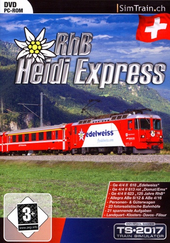 RhB Heidi Express für TS2012 - 2017 [Add-On]