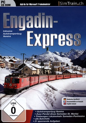 Engadin Express für Trainsimulator [Add-On]