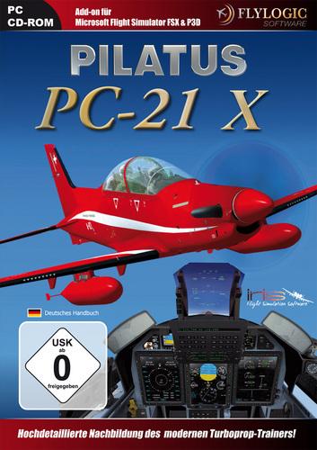 Pilatus PC-21 X für FSX/P3D [Add-On]