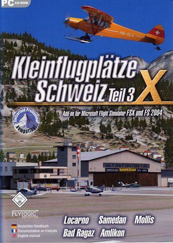 Kleinflugplätze Schweiz Teil 3 für FS2004/FSX [Add-On