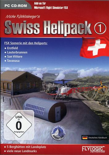 Swiss Helipack 1 für FSX [Add-On]