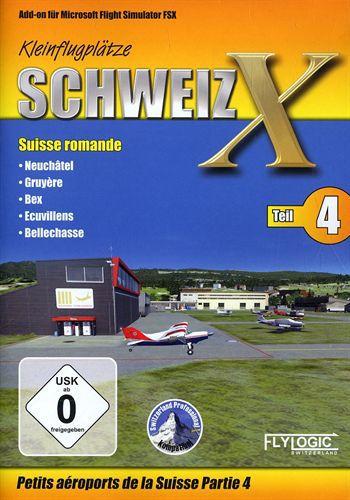 Kleinflugplätze Schweiz X - Teil 4 für FSX [Add-On]