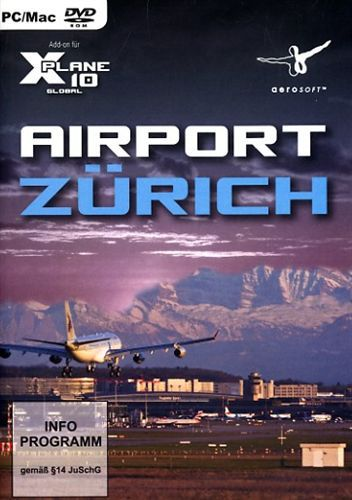 Airport Zürich für X-Plane 10 [Add-On] [DVD]