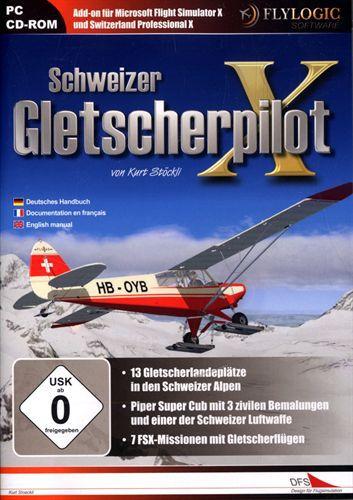 Schweizer Gletscherpilot X für FSX [Add-On]
