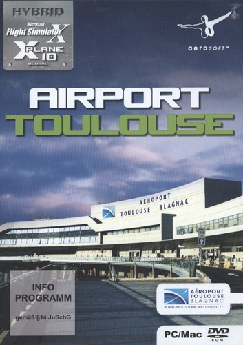Airport Toulouse für FSX X-Plane 10 [Add-On] [DVD]