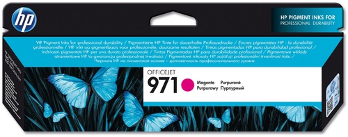 HP No. 971 magenta, Cartuccia d'inchiostro magenta, CN623AE, 2'500 pagine