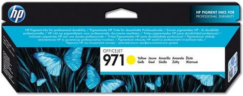 HP No. 971 jaune, Cartouche d'encre jaune, CN624AE, 2'500 pages
