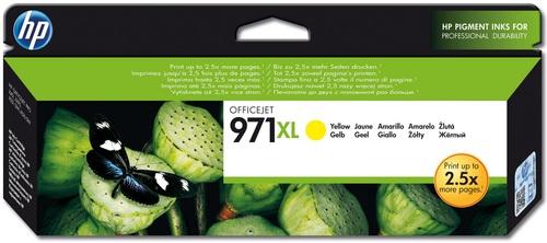 HP No. 971XL giallo, Cartuccia d'inchiostro giallo, CN628AE, 6'600 pagine
