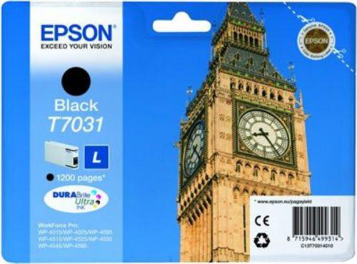 Epson T7031, TPA schwarz, 1'200 Seiten, 24ml