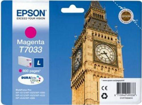 Epson T7033, TPA magenta, 800 Seiten, 9.6ml