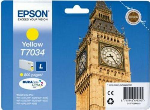 Epson T7034, TPA yellow, 800 Seiten, 9.6ml